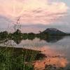 150303-1824-54-BR - Blick auf den Sigiriya Felsen